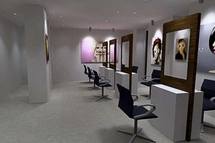 Projet d'étude Eclairage ergonomique salon de coiffure