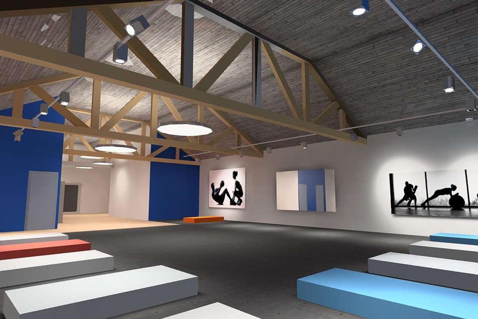 Projet pour un espace fitness situé à Barberaz en Savoie